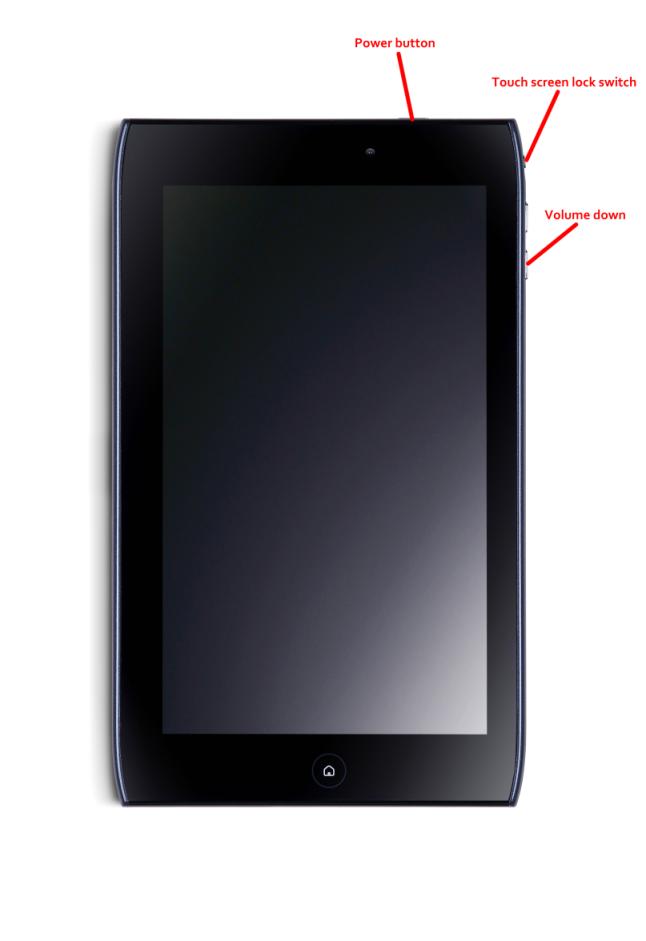 Как сделать хард ресет на планшете perfeo