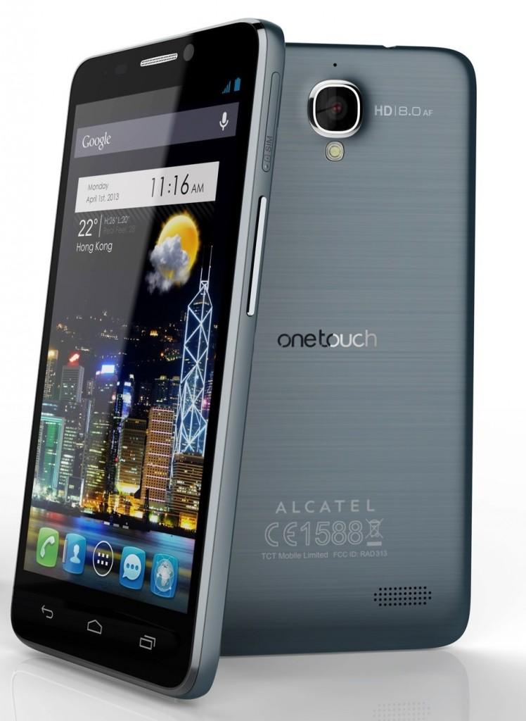 Desbloquear Android en el Alcatel One Touch Idol