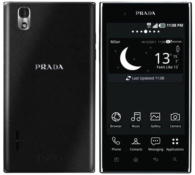 Desbloquear Android en el LG Prada 3.0