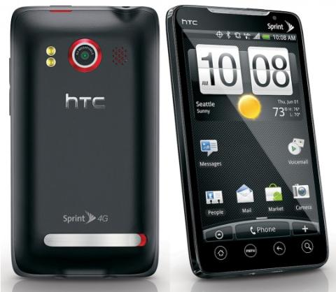 hard reset en HTC EVO 4G