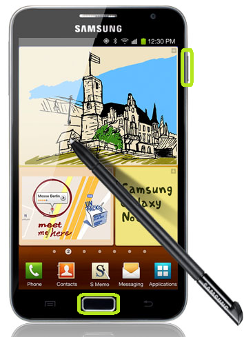 Hard Reset a Samsung Galaxy Note 2