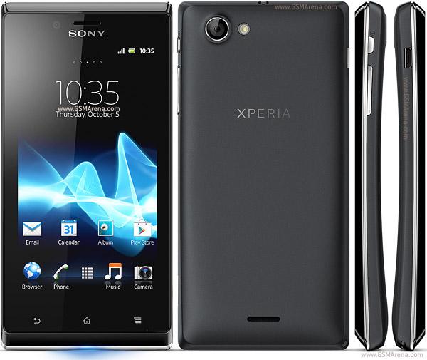 Sony Xperia J, Sony