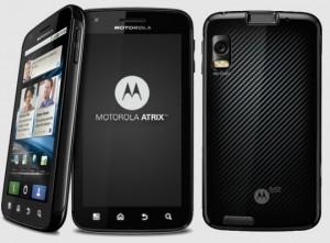 desbloquear Android en Motorola Atrix